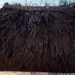 Michael Kors Ostrich feather Skirt